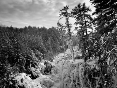 Rawdon Waterfalls – Winter Phootshoot