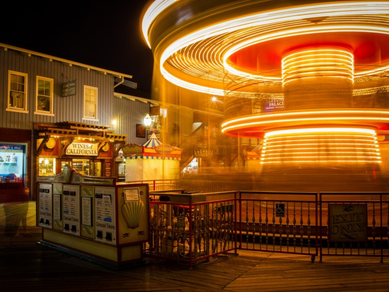 Spin the Pier